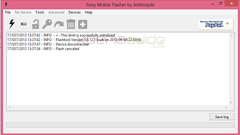 Flash Xperia Z1 14.1.G.2.257 ftf using Flash Tool Manually