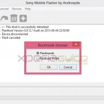 How to flash Xperia Z1 14.1.G.2.257 ftf using Flash Tool Manually ?