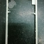 White Frame Parts of an Unknown Xperia Phone Leaked – Similar Metal Frame Like Xperia Z1
