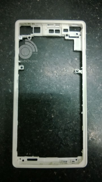 Xperia Frame pasrts front panel