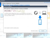 Xperia M 15.1.C.2.8 firmware update via PC Companion - Camera Improved