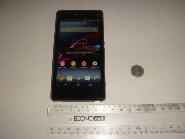 Xperia Z1S D5503 thickness