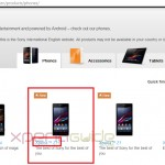 Xperia Z1S spotted on Sony Mobile Global Site and Taken Down by Sony Soon