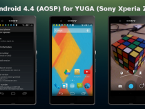 android 4.4 KitKat AOSP KRT16M ROM on Xperia Z