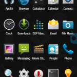 Unofficial CyanogenMod 11 KitKat 4.4 ROM for Xperia Go - Launcher