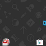 Unofficial CyanogenMod 11 KitKat 4.4 ROM for Xperia P - HomeScreen