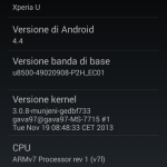 Unofficial CyanogenMod 11 KitKat 4.4 ROM for Xperia U - About Phone