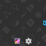 Unofficial CyanogenMod 11 KitKat 4.4 ROM for Xperia U - Home Screen