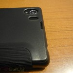 Xperia Z1 Side Flip Case from RockPhone - Flash Opening and Camera port