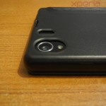 Xperia Z1 Side Flip Case from RockPhone - Camera Opening