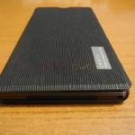 Xperia Z1 Side Flip Case from RockPhone - Speaker grill