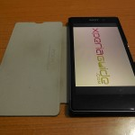 [ REVIEW ] Sony Xperia Z1 Side Flip Case from RockPhone CN