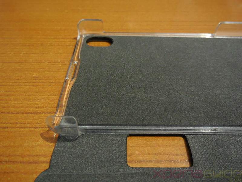 Hard Plastic Bumpers on Roxfit Xperia Z1 case