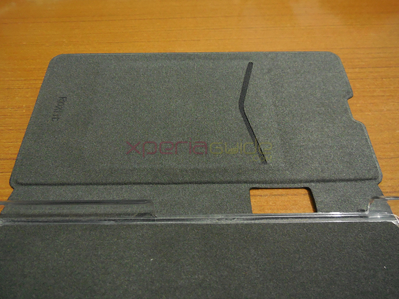 Xperia Z1 Book Flip Case from Roxfit - Credit Card Slots