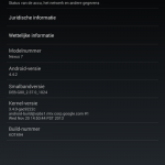 Download Android 4.4.2 KOT49H OTA update zip on Nexus 7 2013 LTE,Wi-Fi Model manually