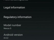 About phone of Nexus 5 Android 4.4.2 KOT49H update