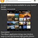 Xperia Z1 Album version 5.3.A.0.22 update Rolling – Software Enhancement