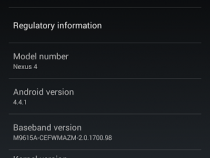 Android 4.4.1 KOT49E Update on Nexus 4