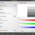 How to Install White Balance App on Xperia Z1 to remove Yellow Hue