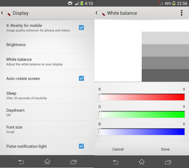 How to Install White Balance App on Xperia Z1 to remove Yellow Hue (2)