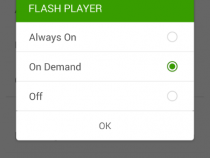 How to play Flash Videos on Android 4.4 KitKat on Nexus 5 - For Dolphin Browser