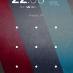 Lock Screen Transaprent Navigation bar in Nexus 5 Android 4.4.1 KOT49E update