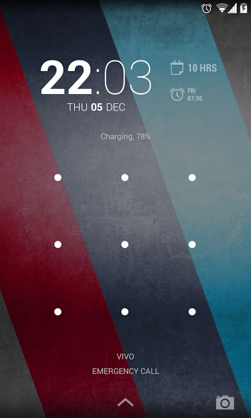 Lock Screen Transaprent Navigation bar in Nexus 5 Android 4.4.1 KOT49E update