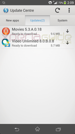 Movies app 5.3.A.0.18 and Video Unlimited app 8.0.B.0.8 Update