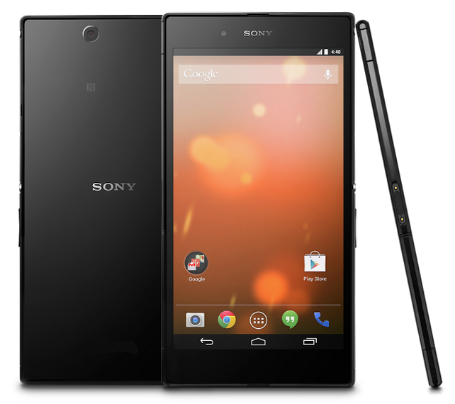 No Xperia Branding on Sony Z Ultra Google Play Edition