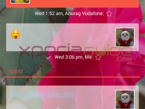 Set conversation wallpaper in SMS on Android 4.3