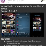 Download Walkman app version 8.1.A.0.3 update on Xperia Z1, Z Ultra, Z, ZL, ZR