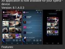Walkman app version 8.1.A.0.3 update