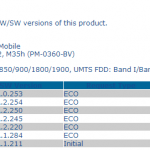 Xperia SP Android 4.3 12.1.A.0.253 firmware Certified by PTCRB