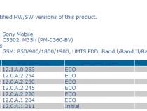 Xperia SP 5302, C5303 and C5306 Android 4.3 12.1.A.0.253 firmware Certified