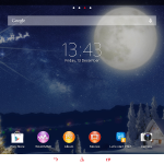 Xperia Themes on Tablet Z - Christmas