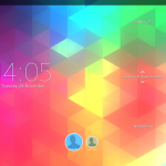 Xperia Themes on Tablet Z - Triflat