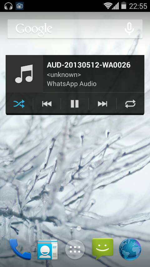 Unofficial CyanogenMod 11 KitKat 4.4 ROM for Xperia Arc - Music player