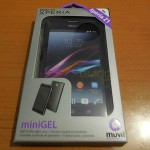 [ REVIEW ] Muvit miniGEL case for Xperia Z1 – Soft and Skin Tight Case