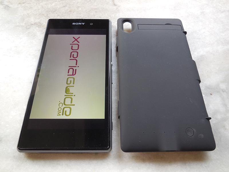 3200mAh Power case for Sony Xperia Z1 from Brando - Review