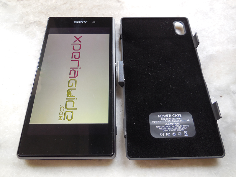 3200mAh Power case for Xperia Z1 from Brando - Review