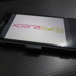 Left profile of case of Xperia Z1