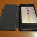 [ REVIEW ] Xperia Z1 Hard-shell flip Leather Case from TETDED
