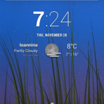 Unofficial CyanogenMod 11 KitKat 4.4 ROM for Live with Walkman - Home Screen