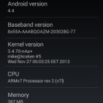 Unofficial CyanogenMod 11 KitKat 4.4 ROM for Live with Walkman - About Phone