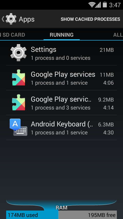 Unofficial CyanogenMod 11 KitKat 4.4 ROM for Neo - Apps