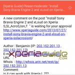 Updated Stock Email app in Xperia Z1 Android 4.3 14.2.A.0.290 firmware Update