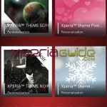 New Stock Xperia Themes