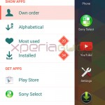 New Xperia Home of Xperia Z1 Android 4.3 14.2.A.0.290 firmware Update
