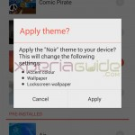 New Xperia themes in Xperia Z1 Android 4.3 14.2.A.0.290 firmware Update