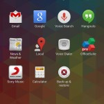 Xperia Support app inXperia Z1 Android 4.3 14.2.A.0.290 firmware Update
